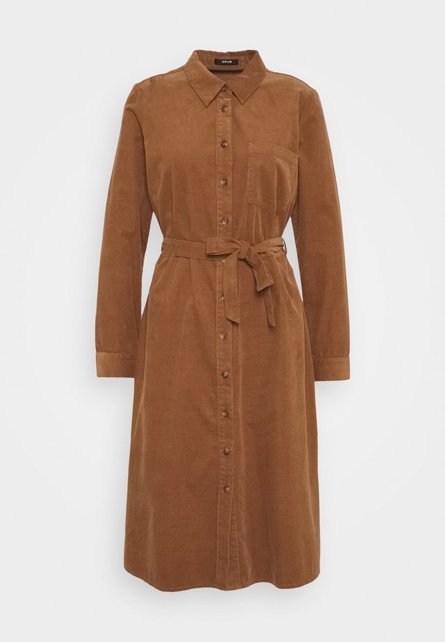 WURALE - Shirt dress - peanut