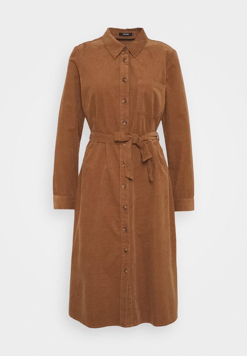 Opus - WURALE - Shirt dress - peanut