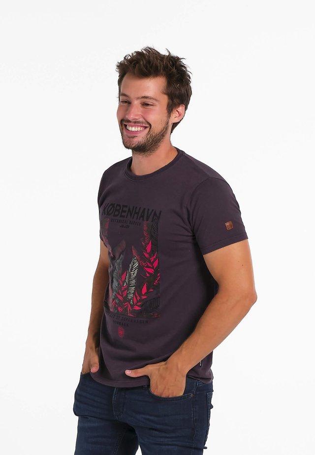 10 HYGGE  - T-shirt print - grijs