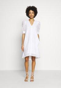 InWear - DEBBYIW DRESS - Denní šaty - pure white - 0