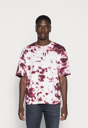 CREWNECK - Print T-shirt - dark red