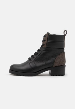 BRONTE BOOT - Lace-up ankle boots - black/brown