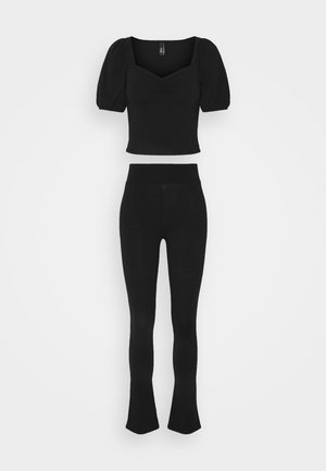 ONLJOYFUL LIVE LOVE PANTS SET - Top - black