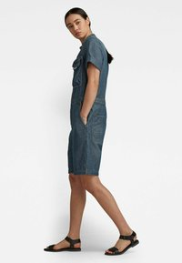 G-Star - WORKWEAR - Jumpsuit - antic faded aegean blue painted - 2