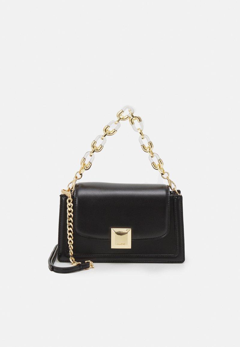 ALDO - INGLUNA - Handbag - black/gold-coloured