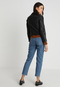 AllSaints - ESTELLA BIKER - Leather jacket - black - 3
