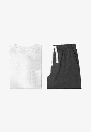 SET JAMES - Pyjama set - gebroken wit