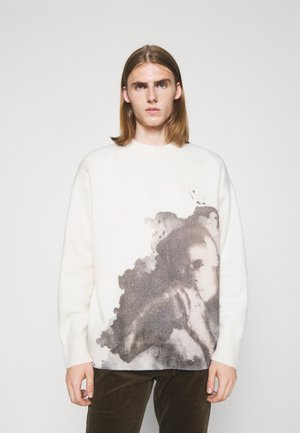 Sweter - off-white