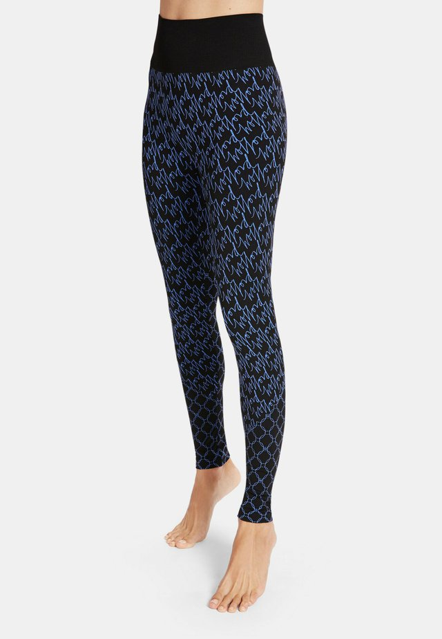AURORA - Legging - egytian blue/black