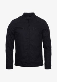 Superdry - Faux leather jacket - navy - 0