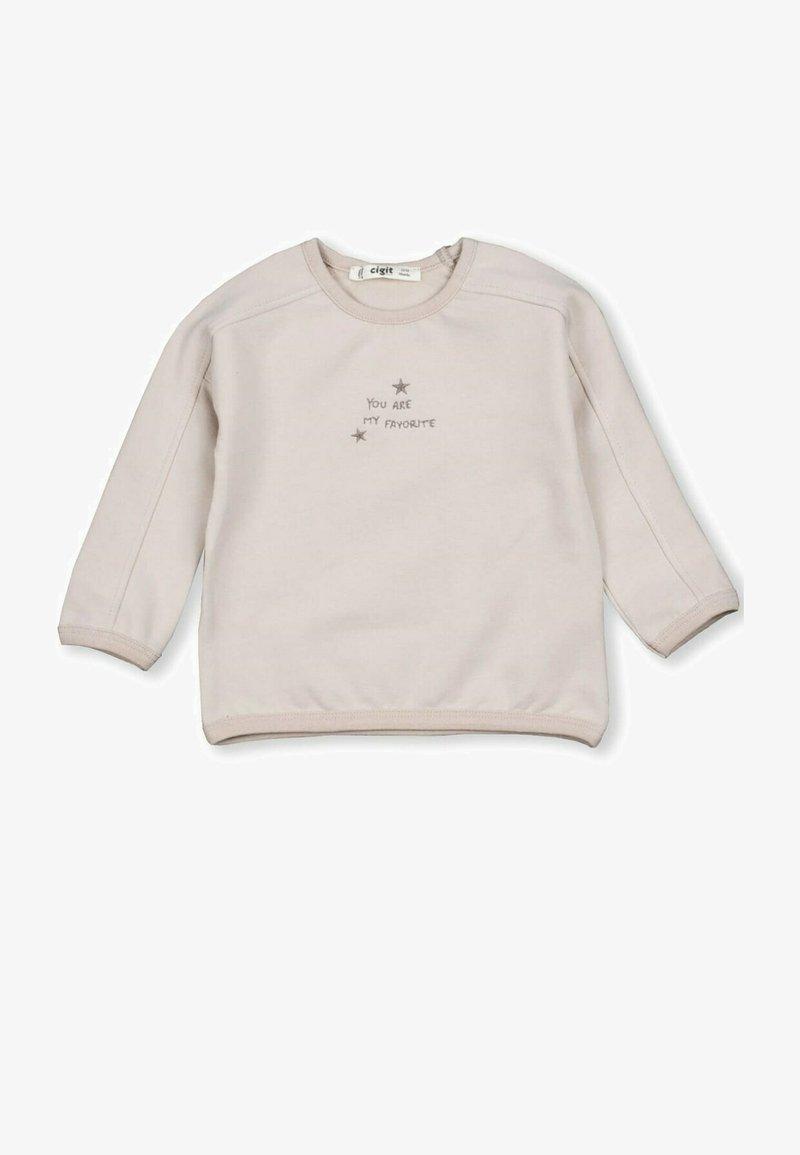 Cigit - Sweatshirt - beige
