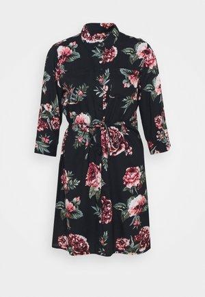 ONLTAMARI DRESS - Vestido camisero - night sky/nova rose