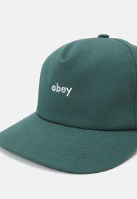 Obey Clothing - LOWERCASE SNAPBACK UNISEX - Lippalakki - sage - 3
