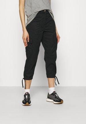 CROPPED  - Kalhoty - black