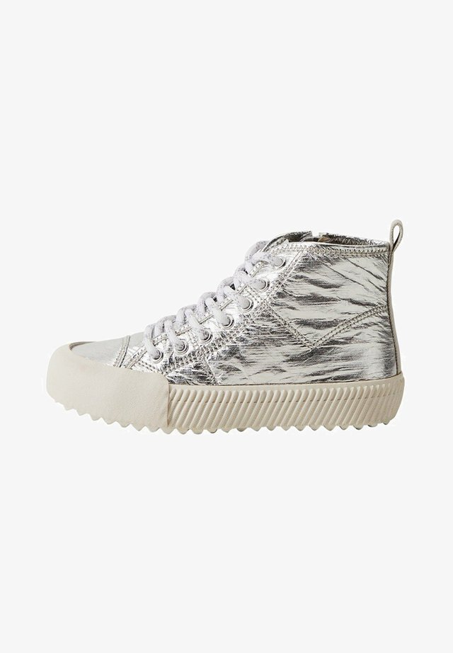BOXY - Sneakers laag - silber