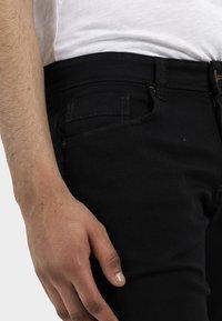 camel active - HOUSTON  - Jeans straight leg - black - 3