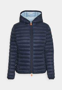 Save the duck - DAISY HOODED JACKET - Winter jacket - navy blue - 4