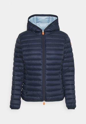 DAISY HOODED JACKET - Winter jacket - navy blue