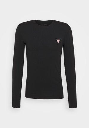 CORE TEE - Long sleeved top - jet black