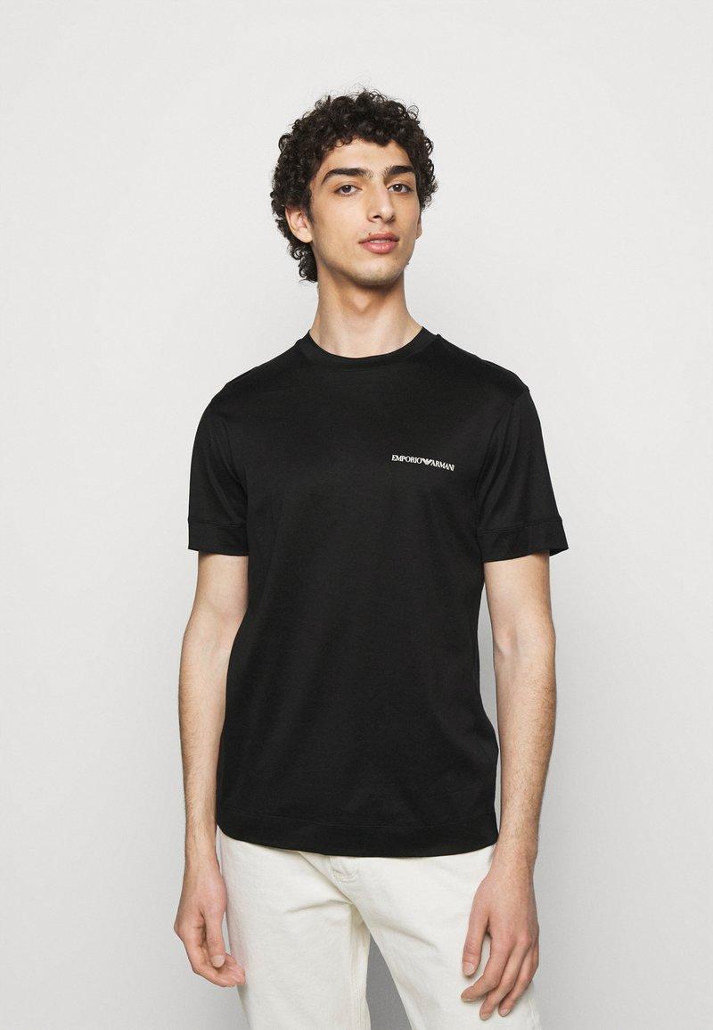 Emporio Armani - Jednoduché triko - black