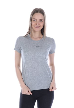 WOMEN'S RELAX FIT 0 NECK  T-SHIRT - T-shirt basic - grey