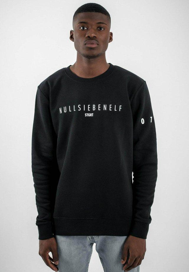 STUTTGART - Sweatshirt - black