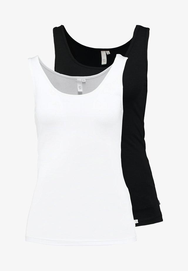 Débardeur - black/white