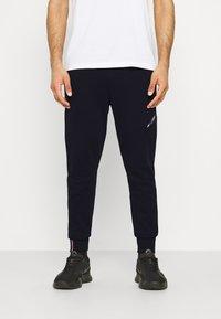 Tommy Hilfiger - LOGO PANT - Pantaloni sportivi - blue - 0