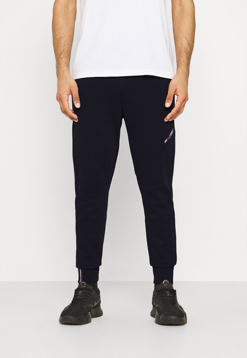 Tommy Hilfiger - LOGO PANT - Pantaloni sportivi - blue