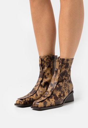 MIKI BOOT  - Kotníkové boty - natural