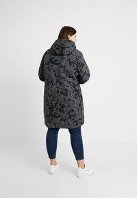 Ragwear Plus - TAWNY CAMO COAT - Parkatakki - dark grey - 2