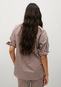 Mango - VERA-I - Button-down blouse - marron - 2