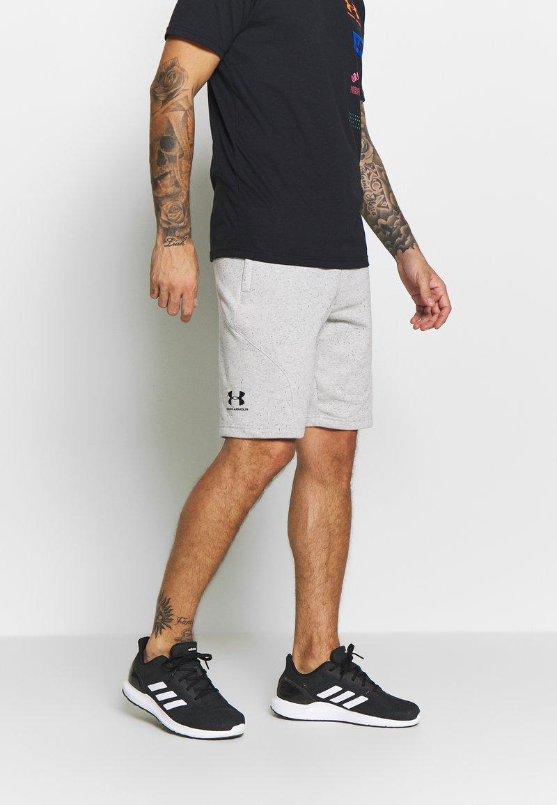 Under Armour - SPECKLED SHORT - kurze Sporthose - onyx white/black