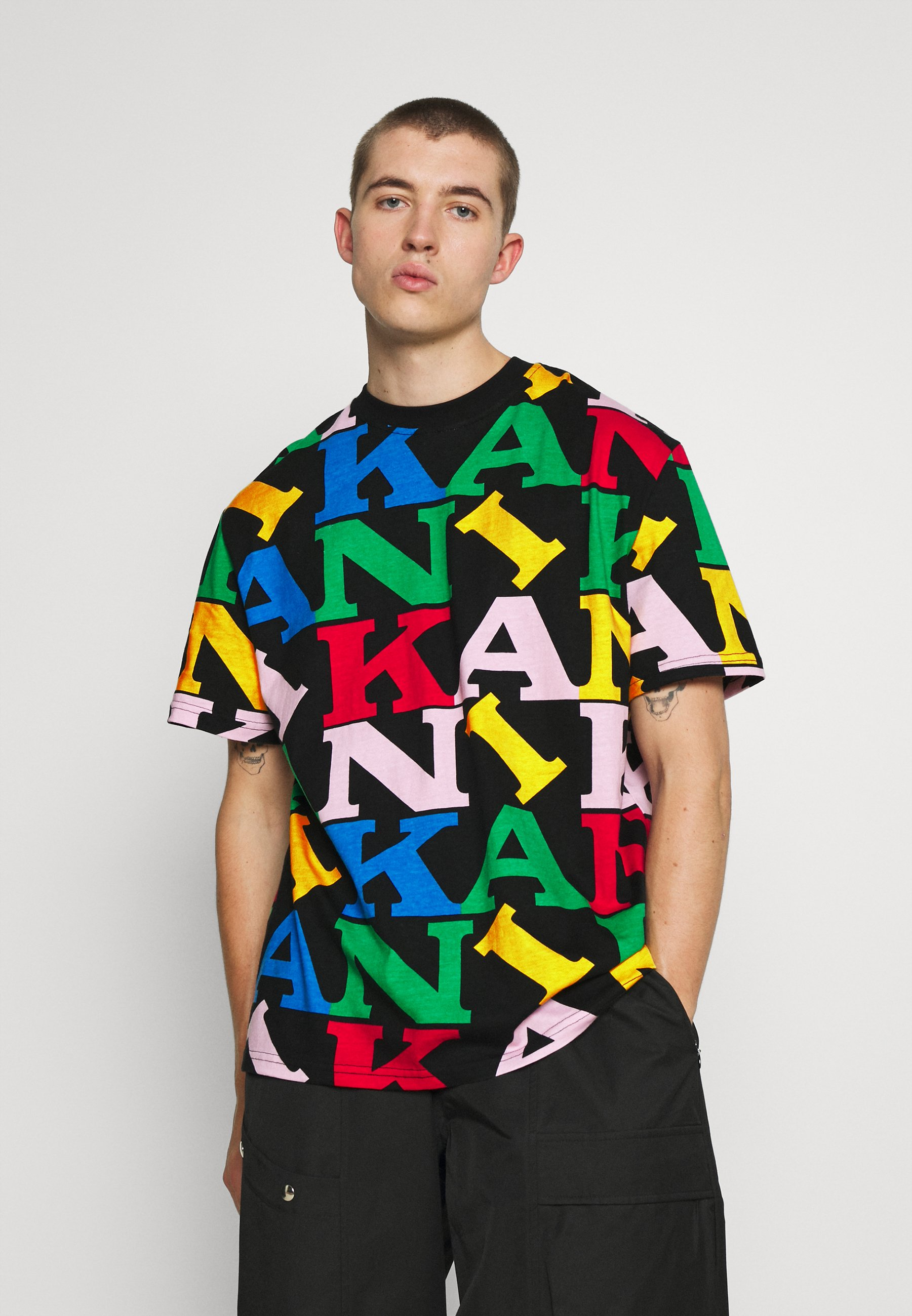 Men UNISEX RETRO LOGO TEE - Print T-shirt