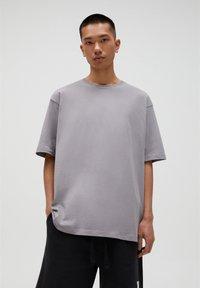 PULL&BEAR - T-shirt basic - beige - 0