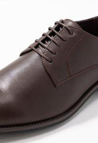 Pier One - Business sko - dark brown - 5