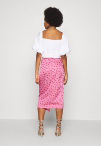 Never Fully Dressed - PINK HEARTS JASPRE SKIRT - Pencil skirt - pink - 2