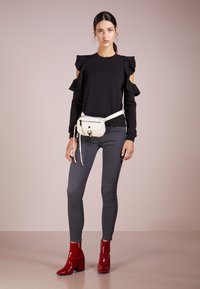7 for all mankind - CROP - Jeans Skinny Fit - bair smoke grey - 1