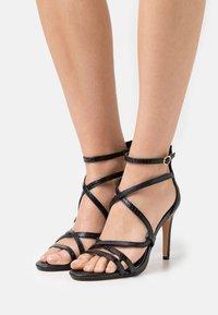 Buffalo - VEGAN MERCY - High heeled sandals - black - 0