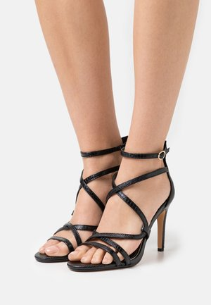 VEGAN MERCY - High heeled sandals - black