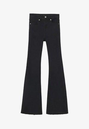 FLARET - Flared Jeans - black denim