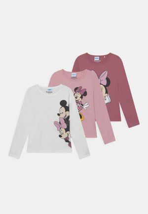 DISNEY MINNIE MOUSE 3 PACK - Long sleeved top - light pink