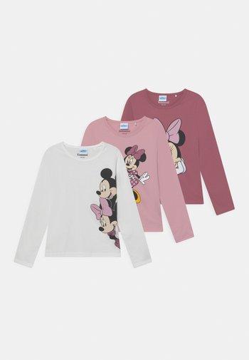 DISNEY MINNIE MOUSE 3 PACK - Pitkähihainen paita - light pink