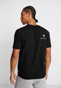 MOROTAI - PREMIUM BLOCK LOGO  - Print T-shirt - black - 2