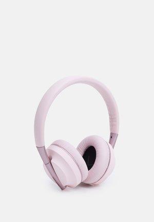 AIR 1 PLAY TRUE WIRELESS HEADPHONES UNISEX - Koptelefoon - pink gold