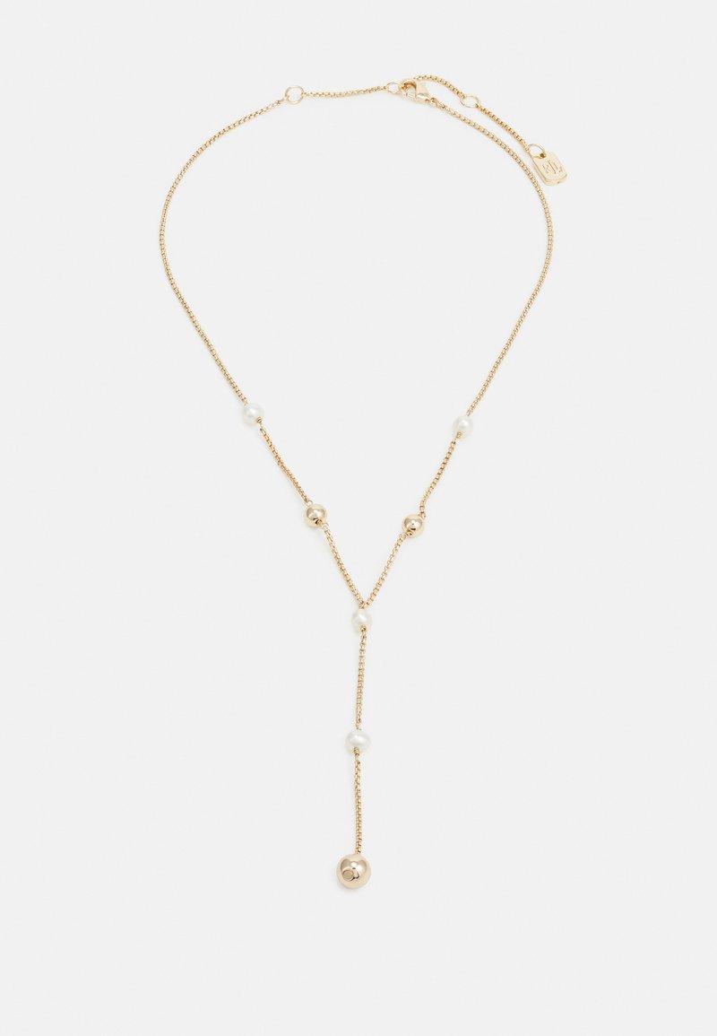 Lauren Ralph Lauren - BALL Y NECK - Necklace - gold-coloured/white