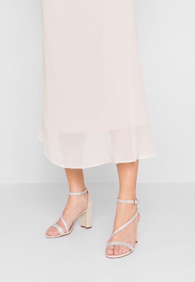 AZARIA - High heeled sandals - champagne