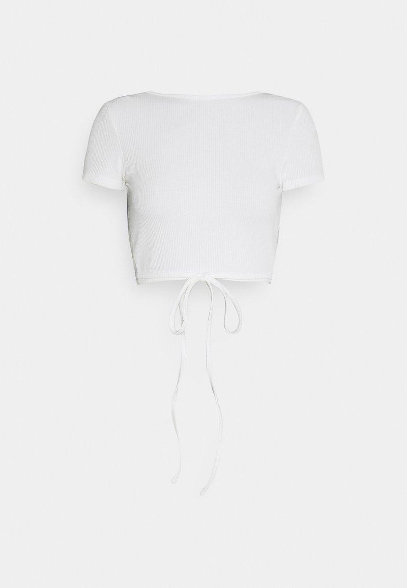 EDITED - RIVER - Basic T-shirt - cloud dancer weiß