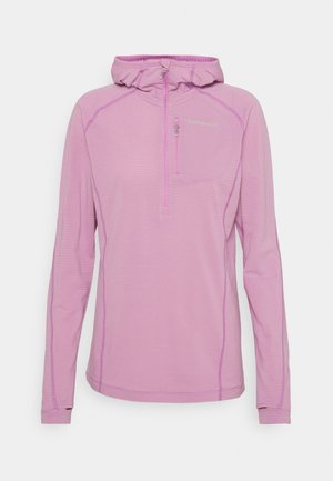 BITIHORN WARM STRETCH HOODIE - Sweat polaire - violet tulle