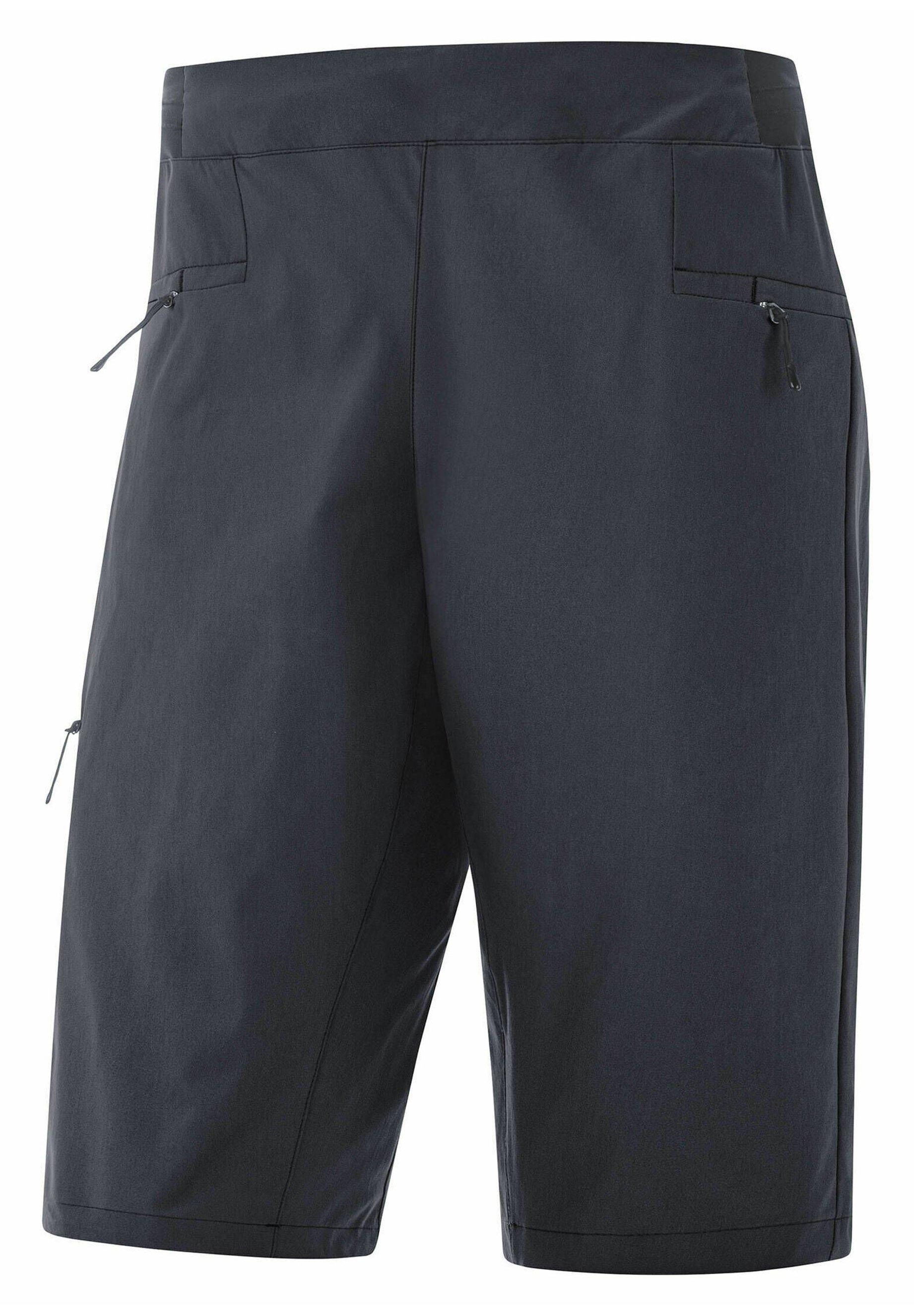 Damen EXPLORE - kurze Sporthose - schwarz
